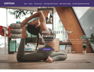 108yoga.ca screenshot