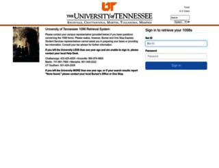 1098.tennessee.edu screenshot