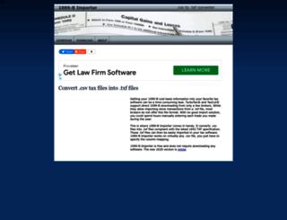 1099bimporter.com screenshot