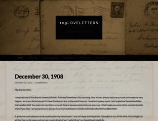 109loveletters.wordpress.com screenshot