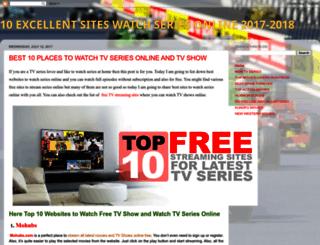 10bestsiteswatchseries.blogspot.co.il screenshot
