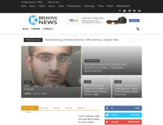 10breakingnews.com screenshot