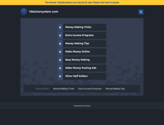 10dollarsystem.com screenshot
