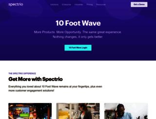 10footwave.com screenshot