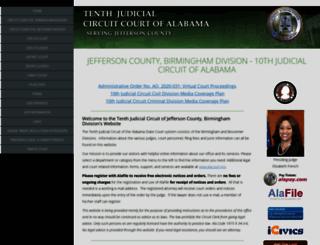 10jc.alacourt.gov screenshot