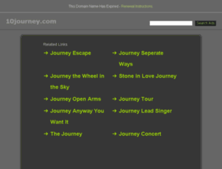 10journey.com screenshot