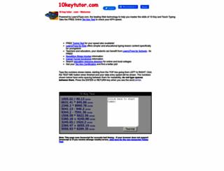 10keytutor.com screenshot