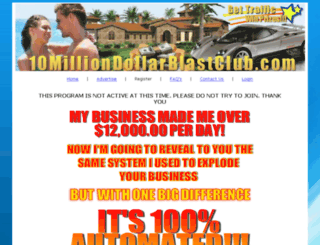 10milliondollarblastclub.com screenshot