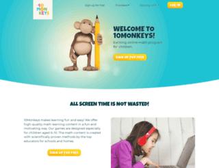 10monkeys.com screenshot