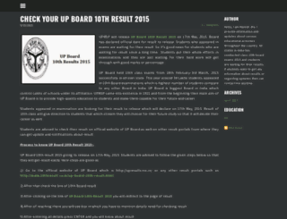 10thresults2015.weebly.com screenshot