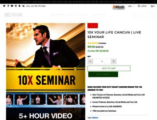10xseminar.com screenshot