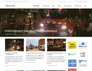 112bollenstreek.nl screenshot