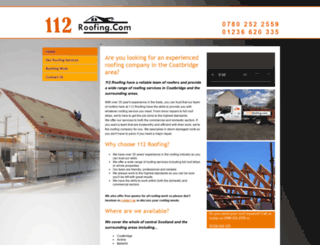 112roofing.com screenshot