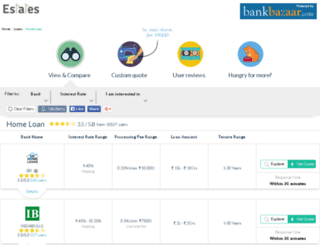 11estates.bankbazaar.com screenshot