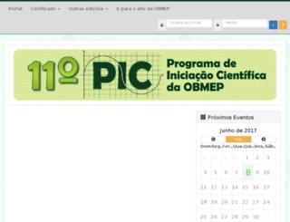 11pic.obmep.org.br screenshot