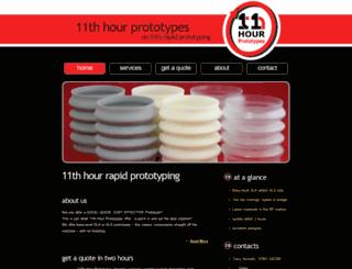 11th-hour-prototypes.co.uk screenshot