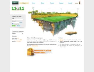 11x11.com screenshot