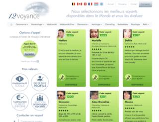 12-voyance.com screenshot