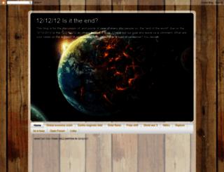 121212theend.blogspot.com screenshot