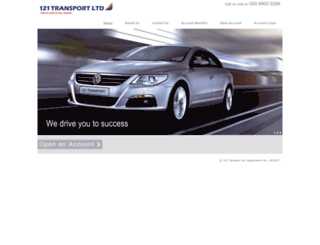 121transport.com screenshot