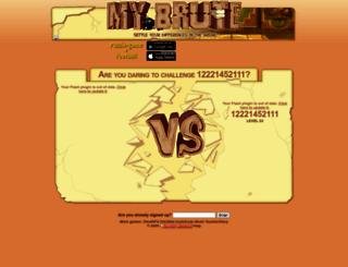 12221452111.mybrute.com screenshot