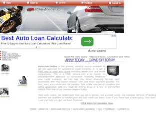 123-auto-loan.com screenshot