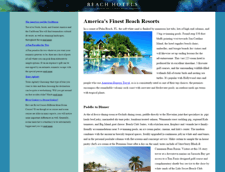 123-beach-hotel.com screenshot