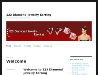 123-diamond-jewelry-earring.com screenshot