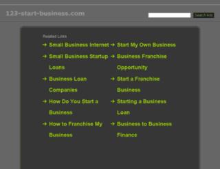 123-start-business.com screenshot