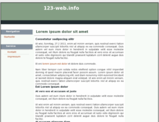 123-web.info screenshot