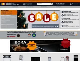123apparatuur.nl screenshot