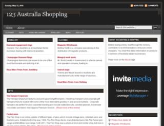 123australiashopping.com screenshot