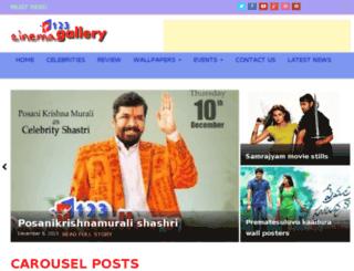 123cinemagallery.com screenshot