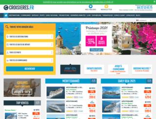 123croisieres.com screenshot