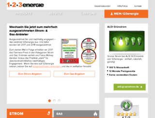 123energie.fr screenshot