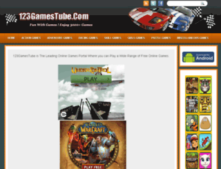 123gamestube.com screenshot