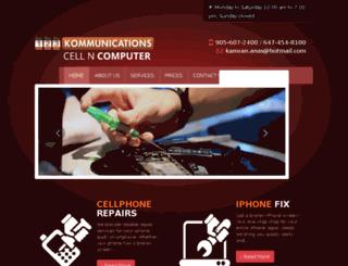 123kommunications.ca screenshot