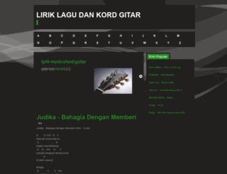 123lirikku.blogspot.com screenshot