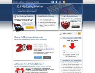 123marketing-internet.com screenshot