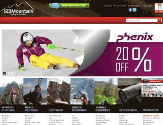 123mountain.com screenshot