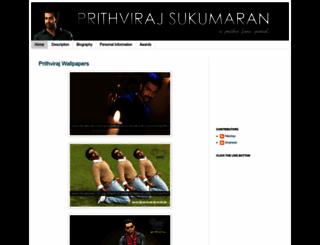 123prithviraj.blogspot.com screenshot