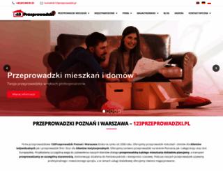 123przeprowadzki.pl screenshot