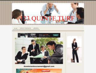 123quinteturf.jimdo.com screenshot
