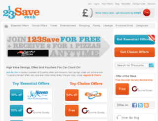 123save.co.uk screenshot