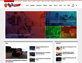 123scoop.com screenshot