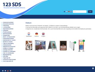 123sds.nl screenshot