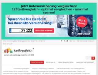 123versicherungonline.de screenshot