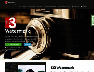 123watermark.com screenshot