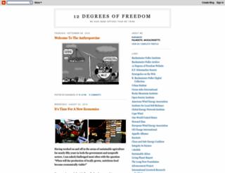 12degreesoffreedom.blogspot.com screenshot