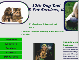 12thdogtaxi.com screenshot